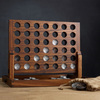 Wood and Aluminum Connect Four Game