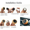 Wooden Aromatherapy Essential Oil Diffuser Car Vent Clip