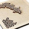 Wooden Fractal Jigsaw Puzzles