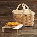 Wooden Pie Basket