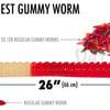World's Largest Gummy Worm