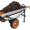 WORX AeroCart - Multi-Function Wheelbarrow, Dolly, and Cart