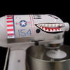 WWII Flying Tiger Shark Fighter Plane Stand Mixer Decals