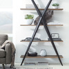Xander Minimalist X-Frame Bookcase