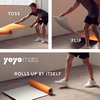 YoYo Mat - Self-Rolling, Stay Flat Yoga Mat