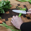 Zayka Ceramic Chef's Knife and Peeler Set