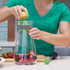 Zing54 - Infusion Pitcher With Citrus Reamer and Muddler Wand