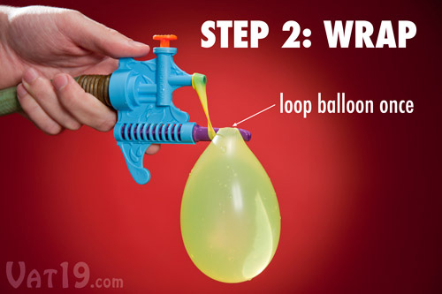 Tie Not Water Balloon Filler And Tying Tool The Green Head