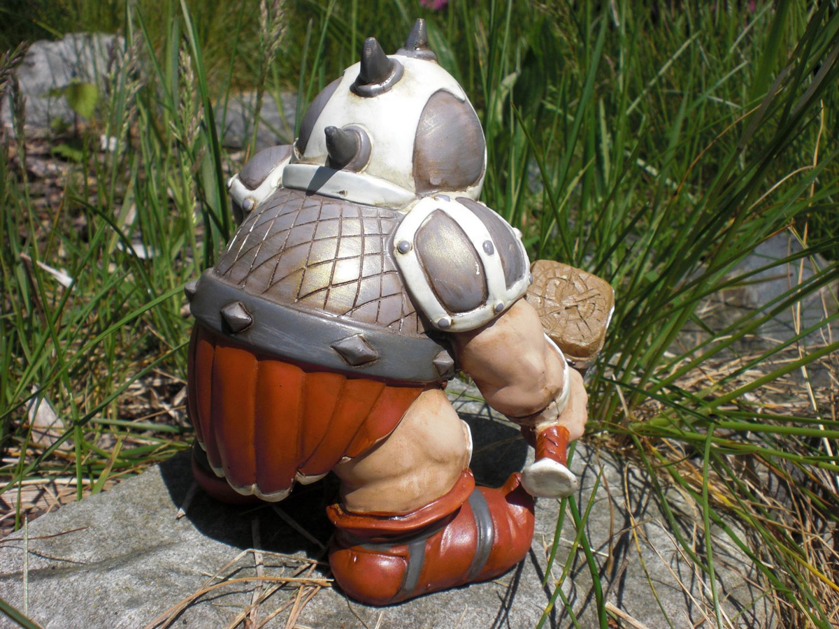 Awesome Tiny Garden Battle Gnome