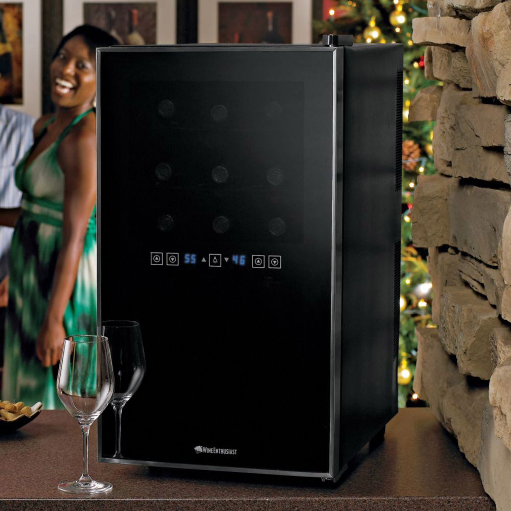 Touchscreen Wine Refrigerator The Green Head