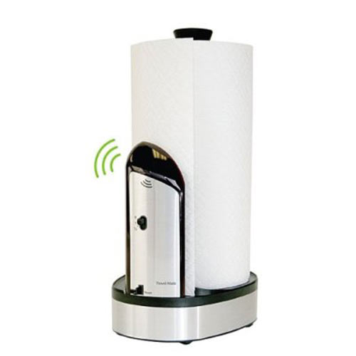 Towel matic automatic paper towel dispenser the green head for Automatic paper towel