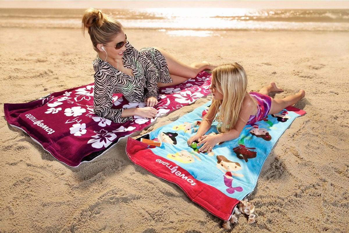Towelmate Ultimate Beach Towel The Green Head