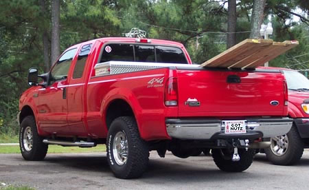 """Truck Nutz Bumper Balls Bull Nuts 8/"""" Tall Flesh"""
