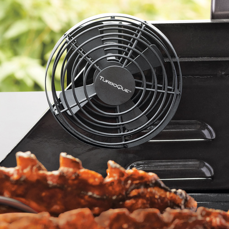 Cool Wood Toys : Turboque smoker convection grilling fan the green head
