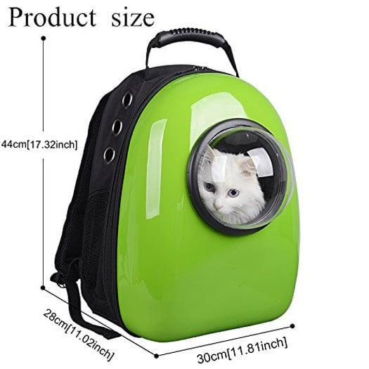 U Pet Bubble Backpack Pet Carrier The Green Head