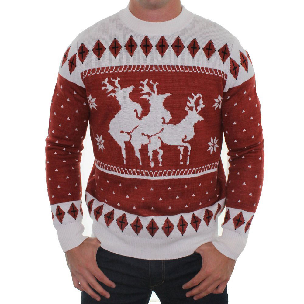 forever 21 sequined naughty or nice christmas sweater. jack ...