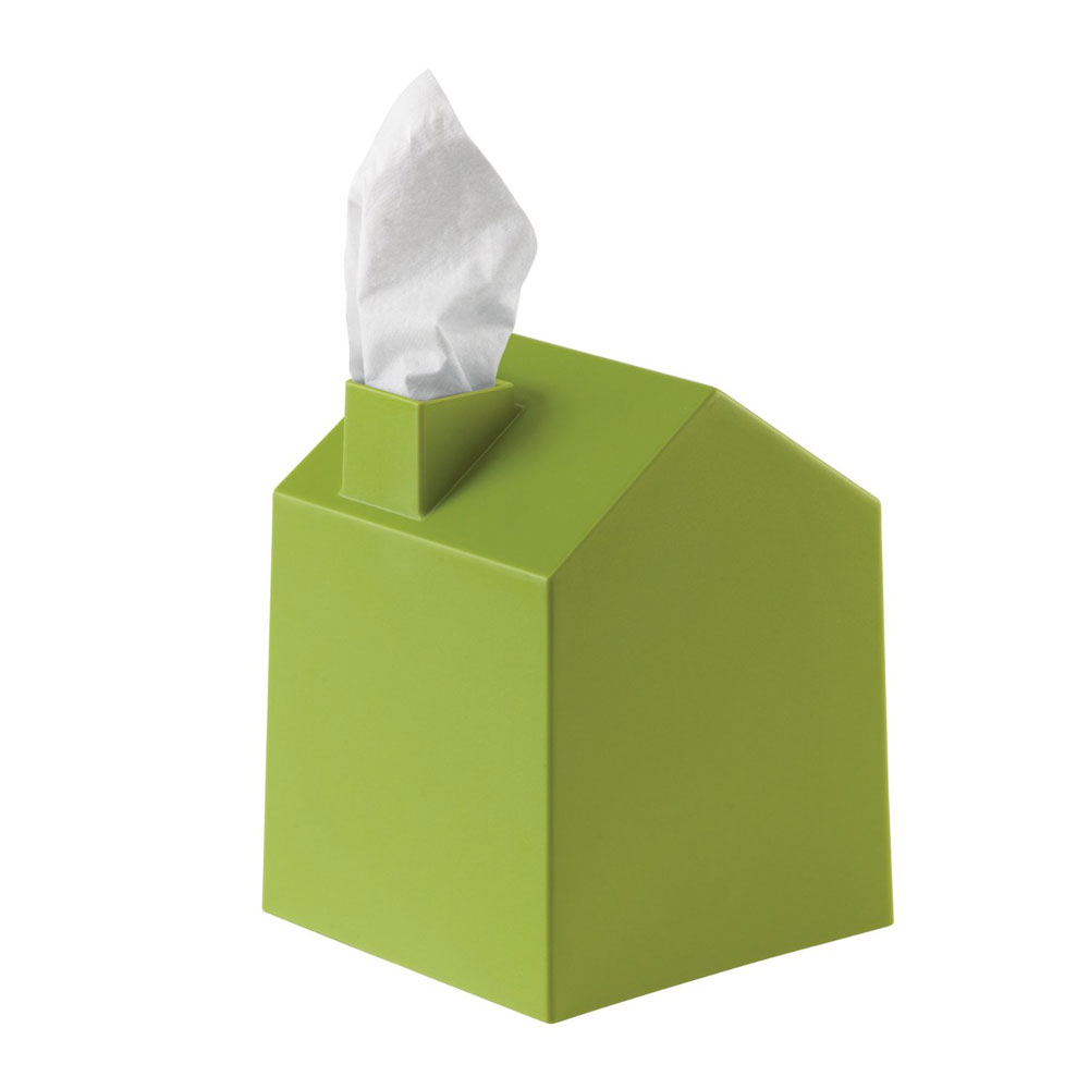umbra casa tissue box cover the green head