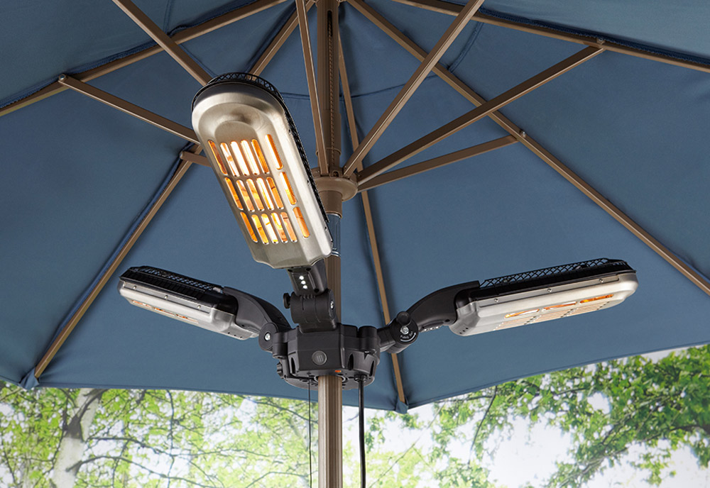 Umbrella Pole Patio Heater The Green Head