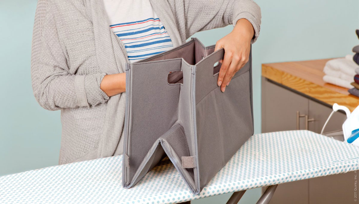 Unhampered Collapsible Laundry Basket The Green Head