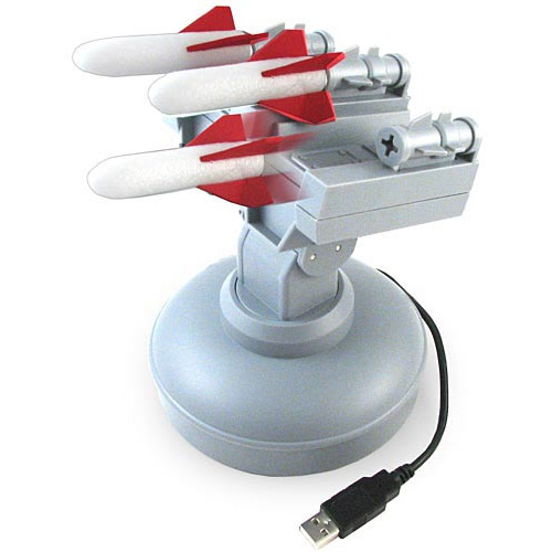 USB Missile Launcher - Computer Controlled Desktop Warfare! - The
