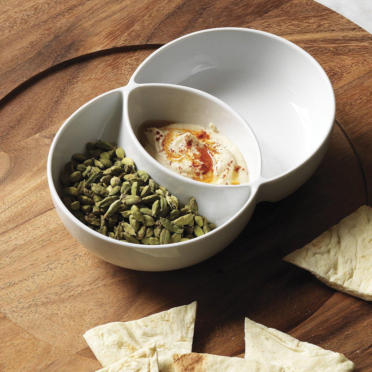 Venn Diagram Chip and Dip Bowl - The Green Head