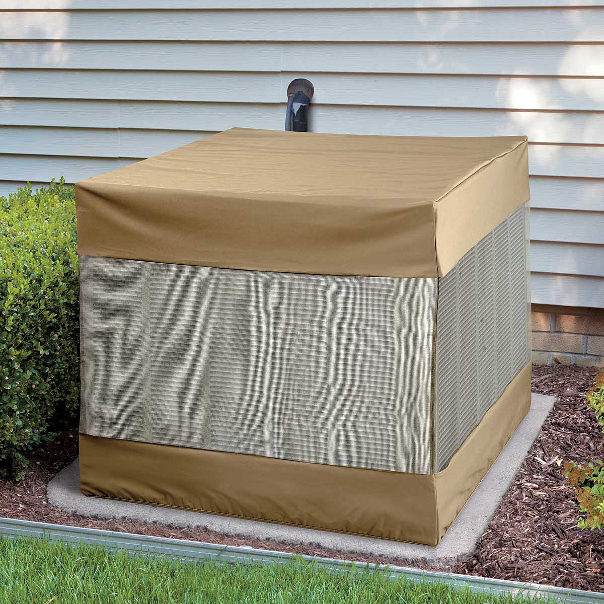 Vented Air Conditioner Cover The Green Head