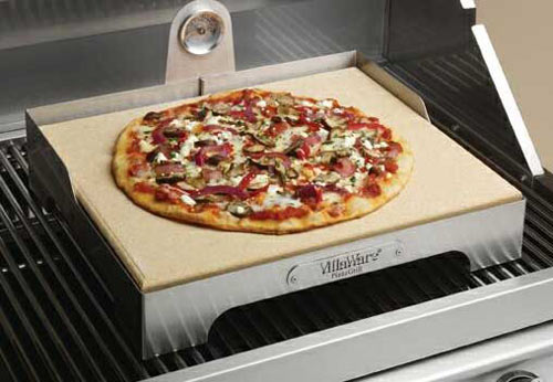villaware pizza grill brick oven style pizza at home the green head. Black Bedroom Furniture Sets. Home Design Ideas
