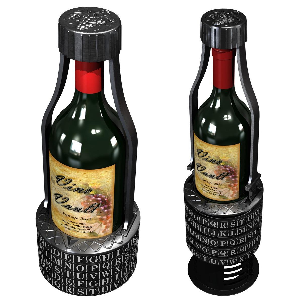 Vino Vault Wine Cryptex The Green Head
