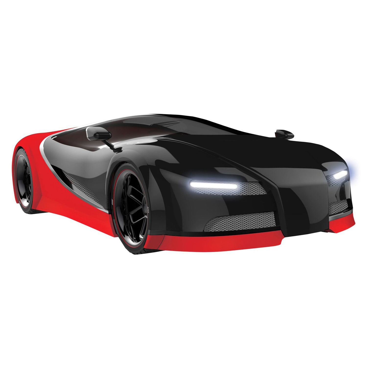 FAO F.A.O 2.4GHZ Schwarz Sports Italia Car LED Headlights and Brakes Lights 1:50 Scale Red in Color Remote Control Car