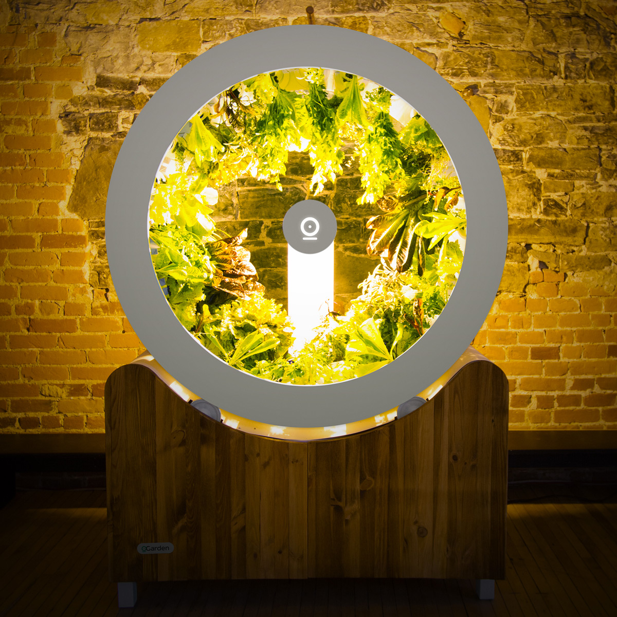 Voici Ogarden Rotating Planter Wheel With Central Light