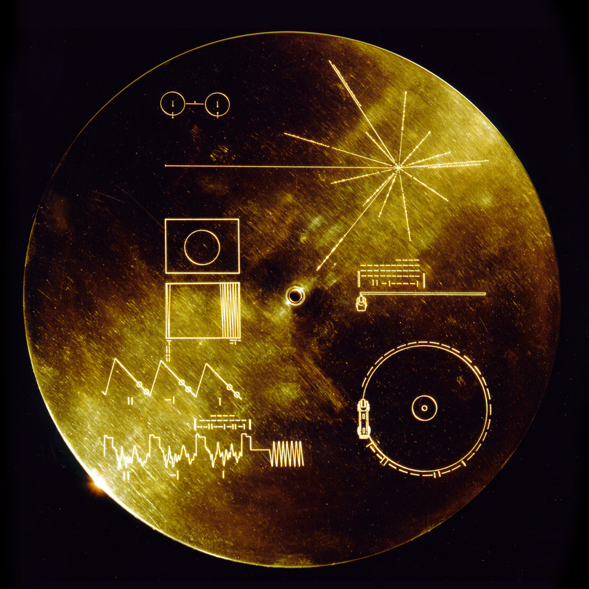 voyager 2 plaque diagram - photo #32