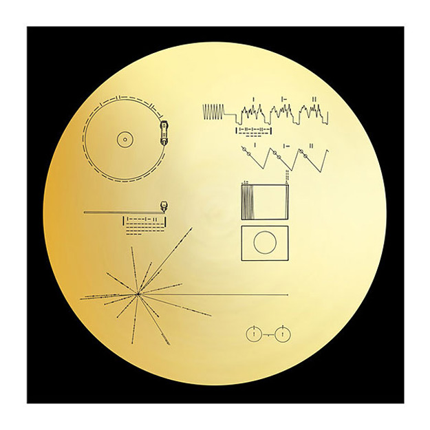 Voyager Golden Record 40th Anniversary Edition 3 Vinyl Deluxe LP