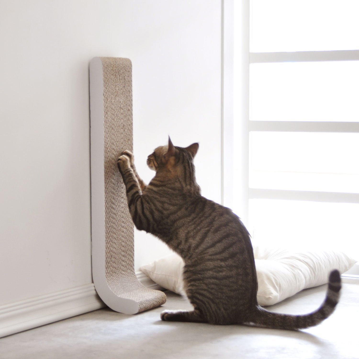 Wall-Mounted Vertical Cat Scratching Post