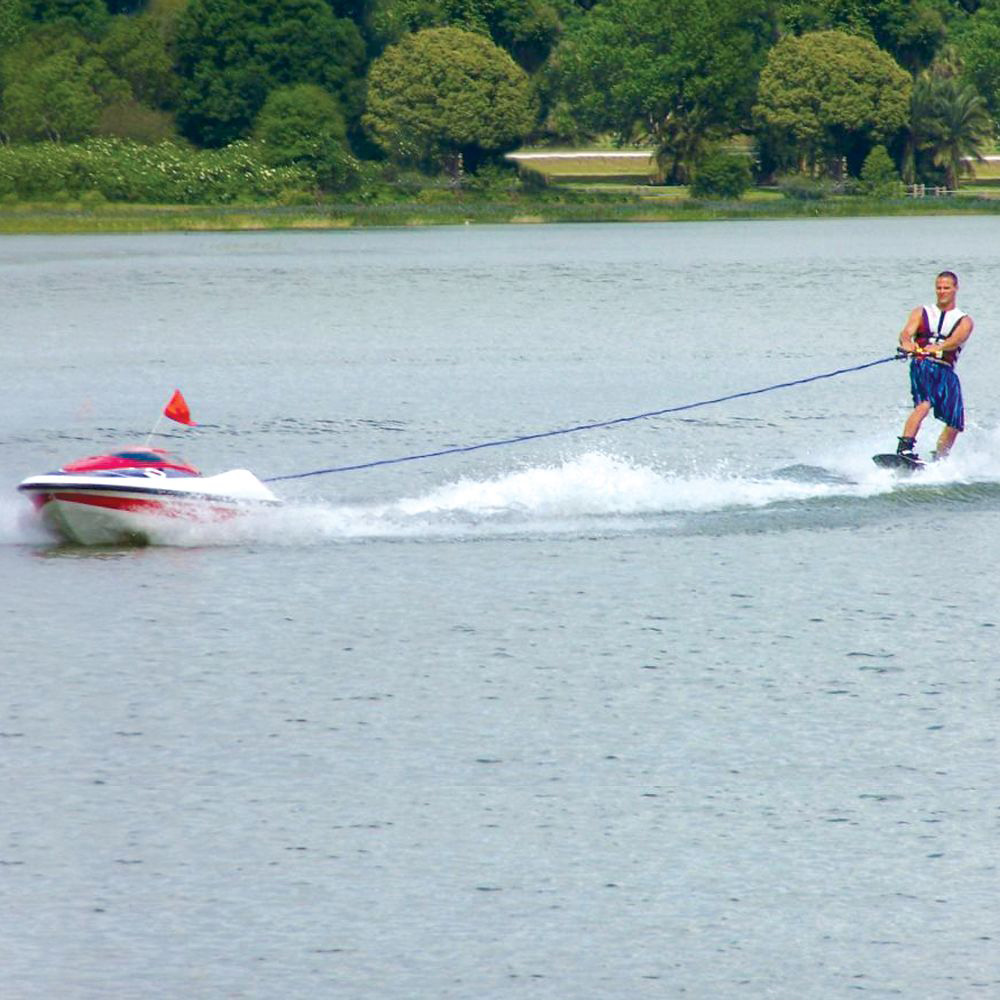 Water Skier Controlled Tow Boat The Green Head