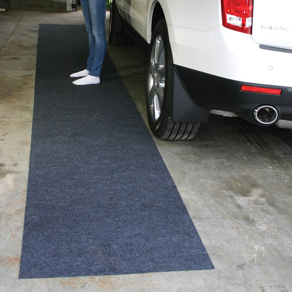 Water Snow And Mud Absorbing Garage Mat The Green Head