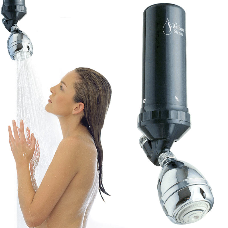 wellness shower filter antiaging shower system