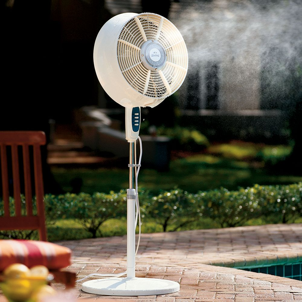 Windchaser Windchill Cool Mist Outdoor Fan