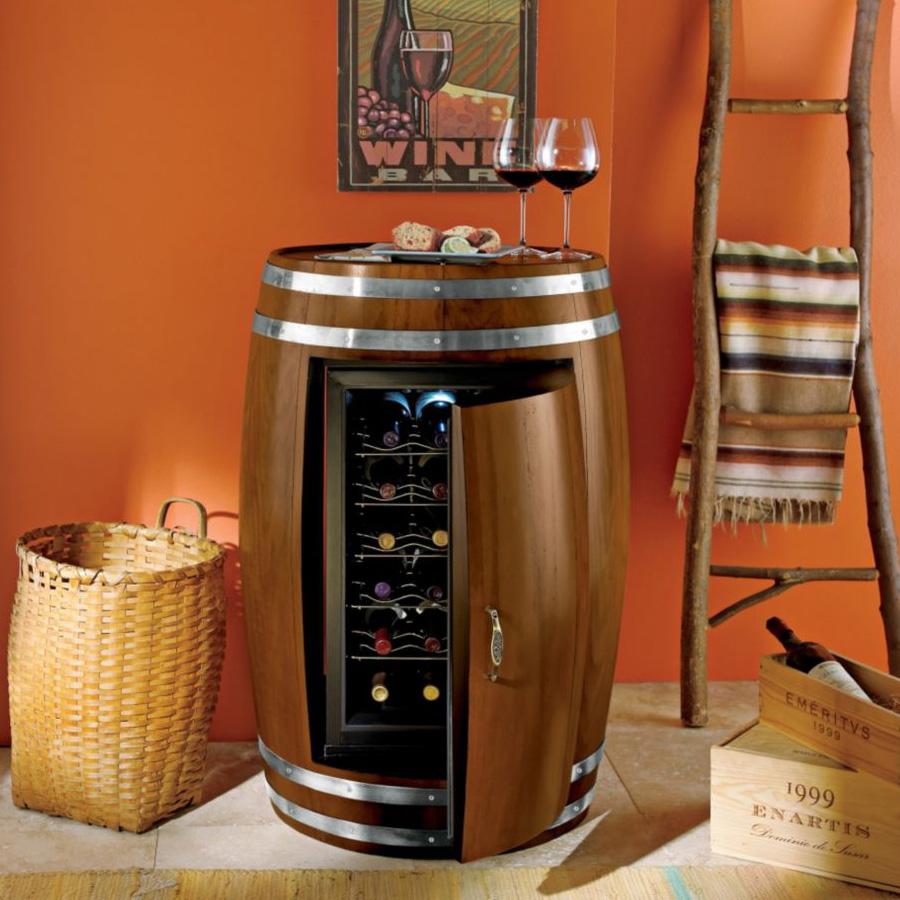 Wine Barrel Refrigerator Thegreenhead Com