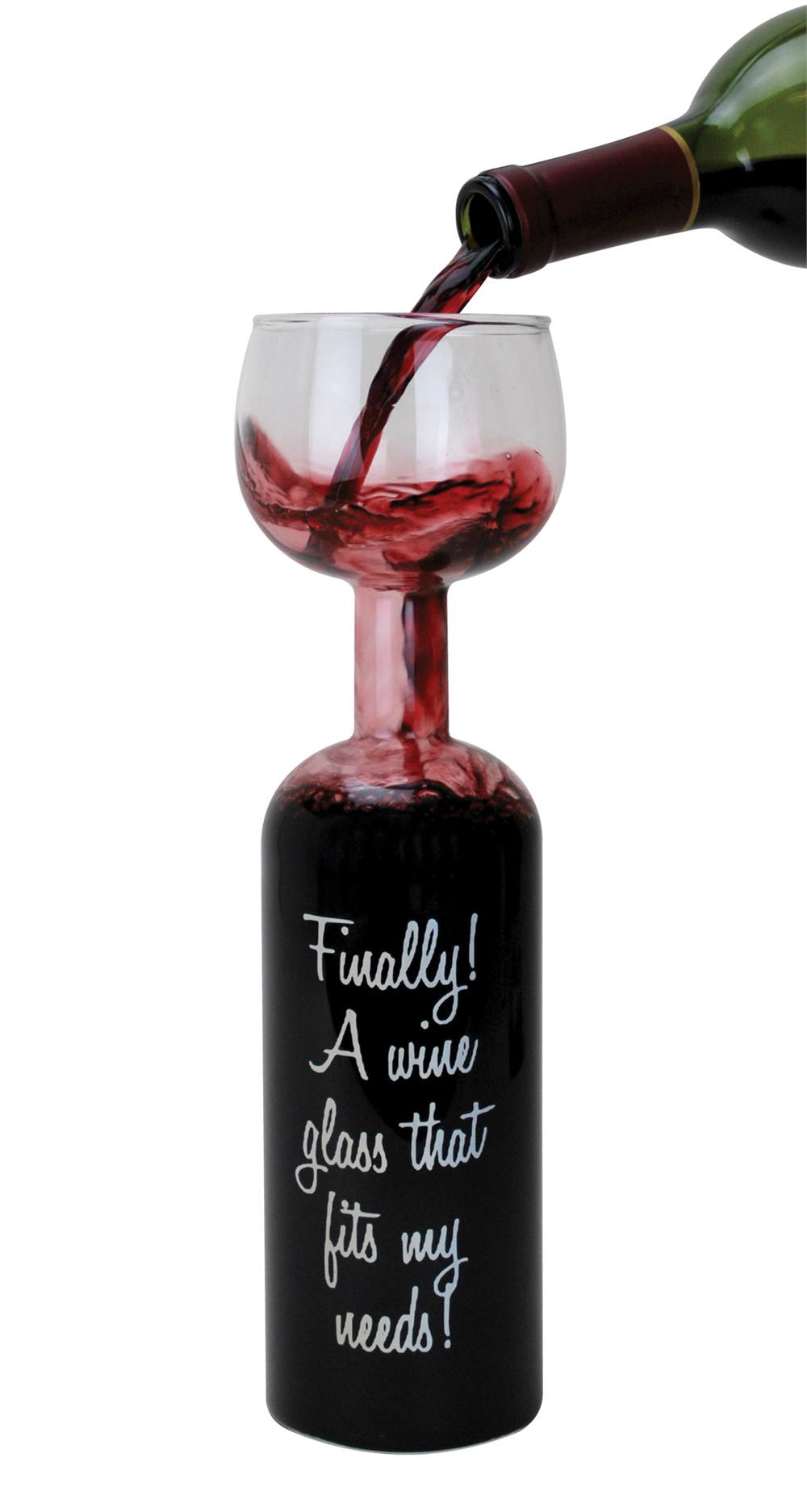 Wine Bottle Glass - Take the Entire Bottle With You - The ...