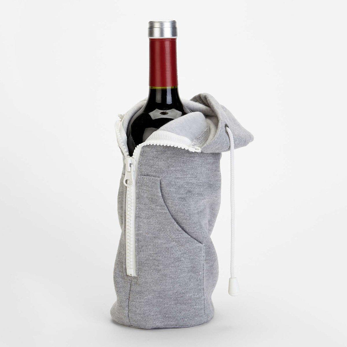 Wine Bottle Hoodie Sweatshirt - The Green Head