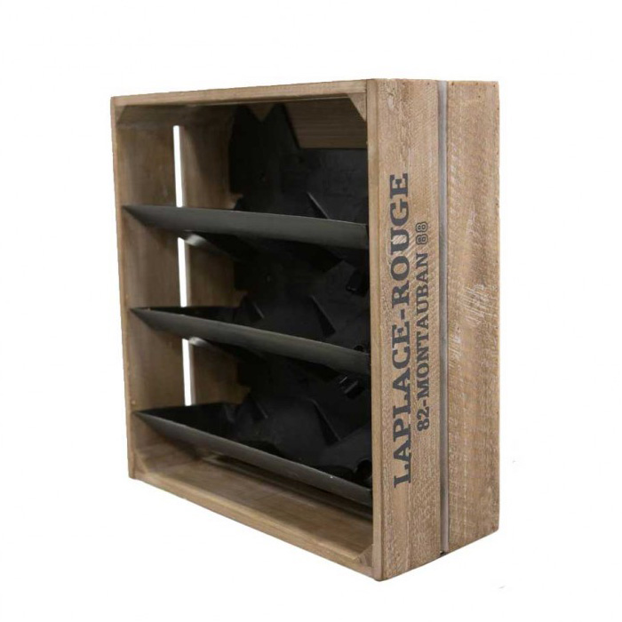 Wine Crate Vertical Garden