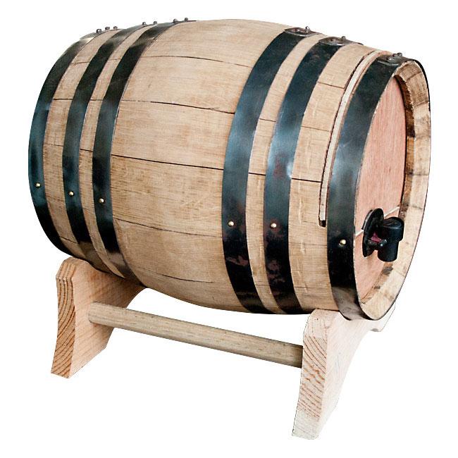 Wine Dispensing Oak Barrel