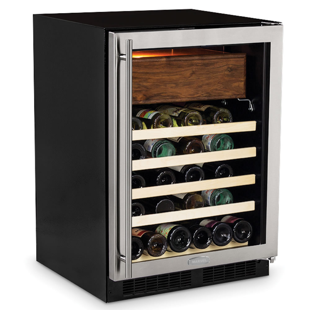 Wine Fridge With Cigar Humidor The Green Head