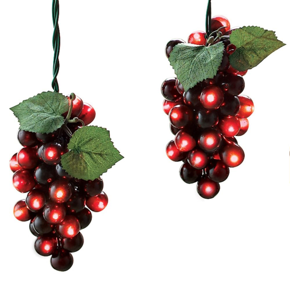 top 28 grape christmas lights kurt adler 20 light