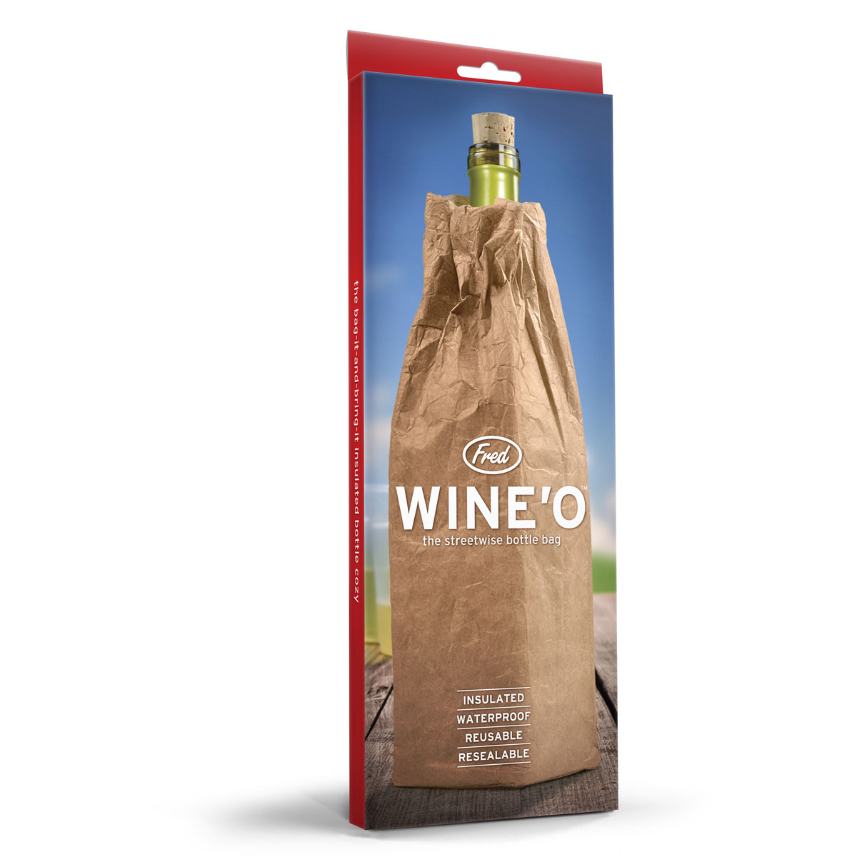 Wine O Insulated Wine Bottle Bag