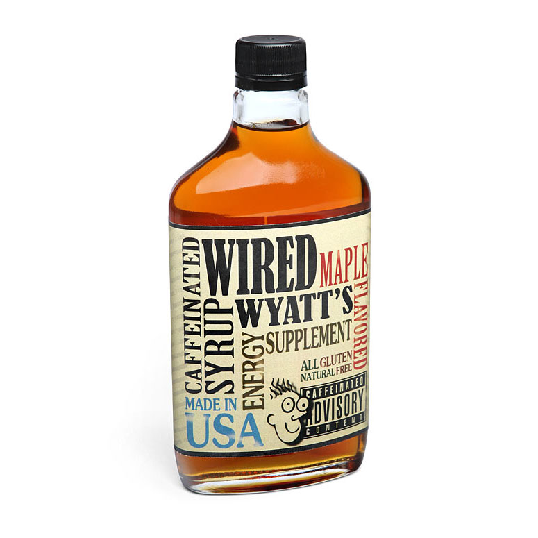 Wired Wyatt\'s Caffeinated Maple Syrup - The Green Head
