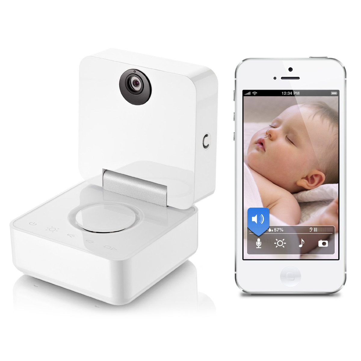 withings smart baby monitor   the green head