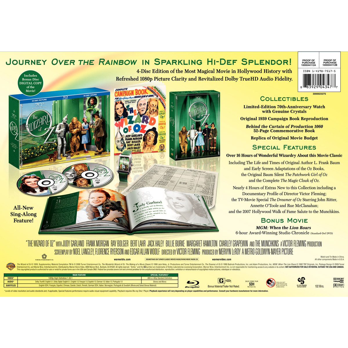 The Wizard Of Oz 70th Anniversary Ultimate Collector S