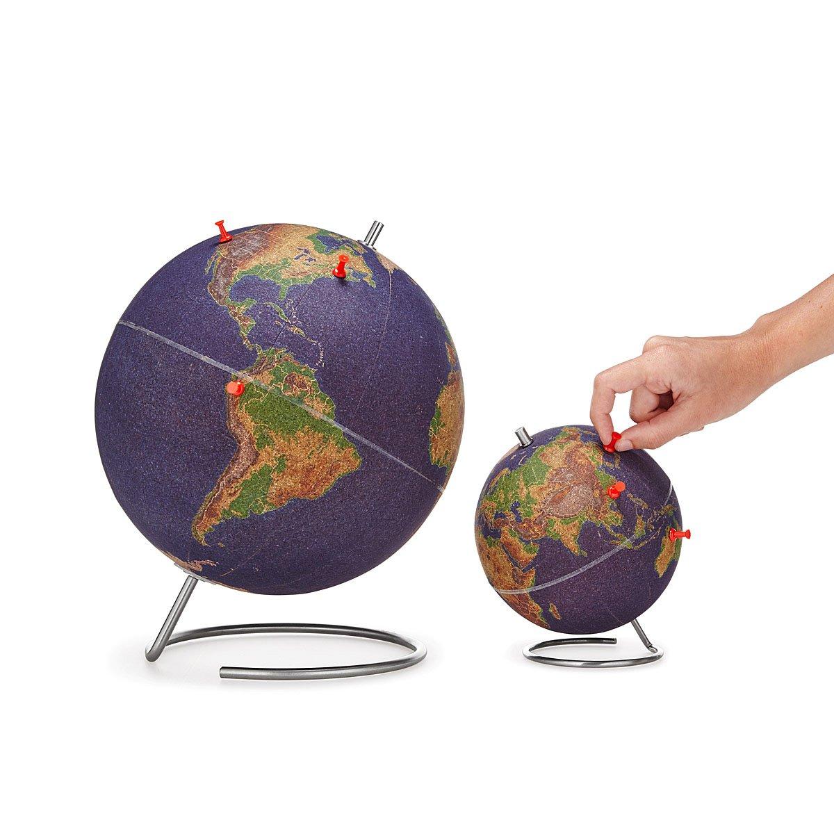 World travelers cork globe the green head world travelers cork globe gumiabroncs Choice Image