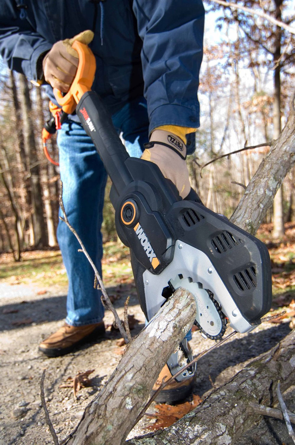 Worx Jawsaw The Chainsaw Re Invented The Green Head